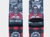 Chaussettes XPOOOZ Hautes Homme – XMas Tattoo.