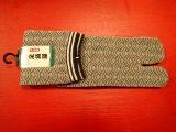 Chaussettes japonaises homme – Motif Fond Ecru