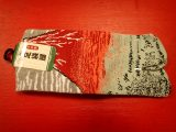 Chaussettes japonaises homme – Hokusai Volcan Rouge